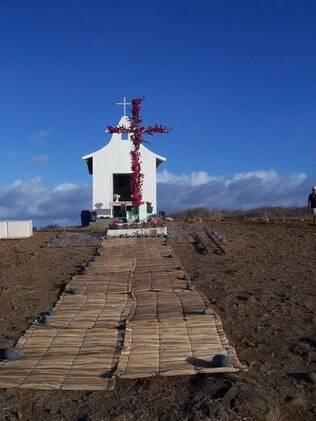 Capela em Fernando de Noronha: janeiro é perfeito para cerimônias ao ar livre, mas poucos casamentos são realizados no mês