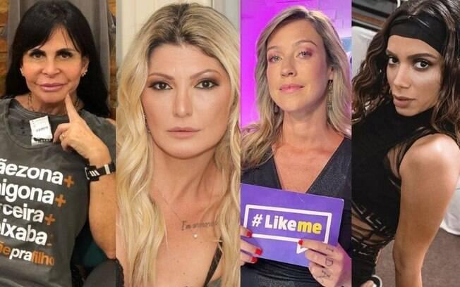 Gretchen, Antônia Fontenelle, Luana Piovani e Anitta