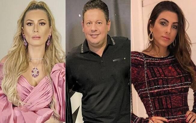 Lívia Andrade, Marcos Araújo e Pétala Barreiros