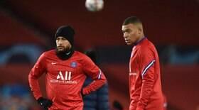 Vinda de Messi criou racha entre Neymar e Mbappé no PSG