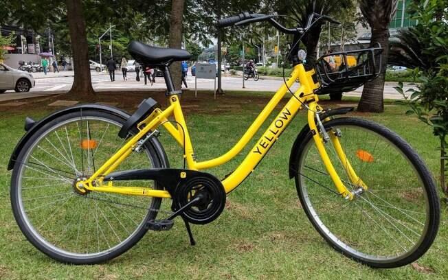 Bicicletas fabricadas pela Yellow terão quadro de aço, pneu sem câmara de ar e GPS para coibir roubos