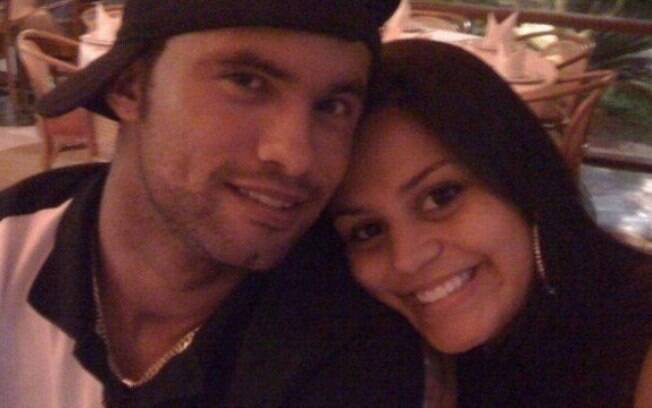 Goleiro Bruno e sua esposa Ingrid
