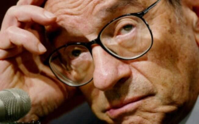 Economista americano e presidente do Fed, Alan Greenspan