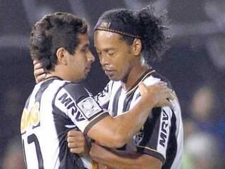 Guilherme deve substituir Ronaldinho na partida desta tarde