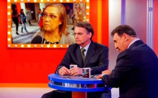Jair Bolsonaro terá que responder duvidas do público