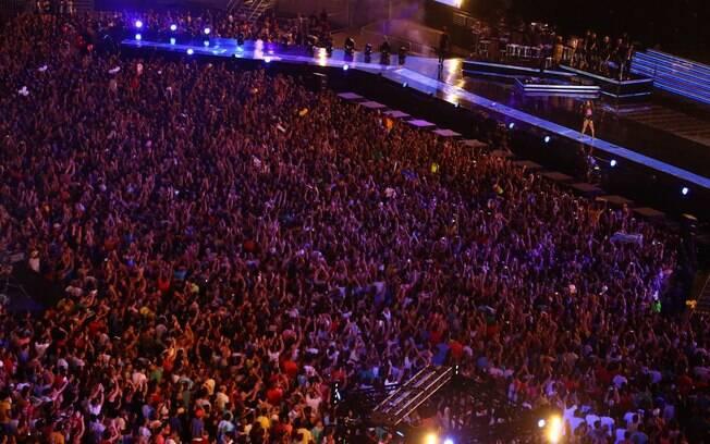 Ivete reuniu 40 mil pessoas em Salvador