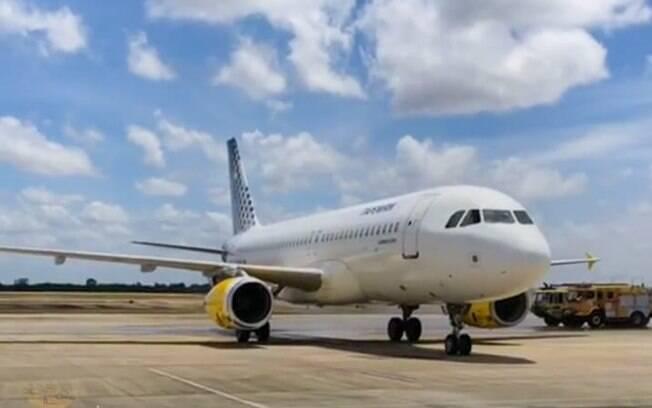Primeira aeronave da ITA Transportes Aéreos pousa no Brasil