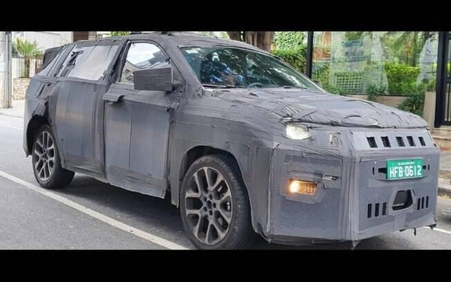 Jeep de 7 lugares será um SUV inédito, de acordo com a FCA. Portanto, terá várias diferenças em relação ao Compass