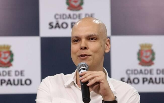 Prefeito de São Paulo Bruno Covas
