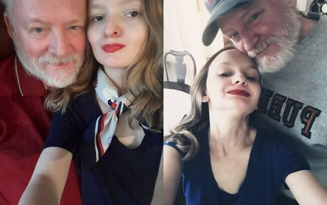 Ada é 27 anos mais nova do que Robert e, por causa disso, o casal acredita não ser bem aceito socialmente