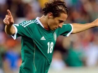 Andrés Guardado é uma das armas mexicana na armação de jogadas pelo meio campo