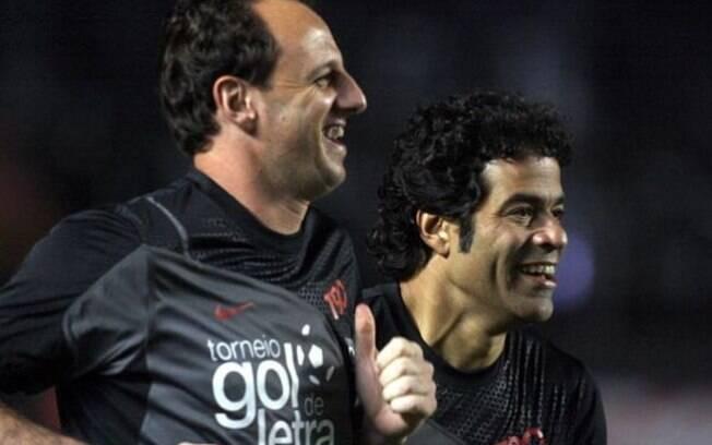 Raí está confirmado na despedida de Rogério. Meia foi capitão do título de 1992