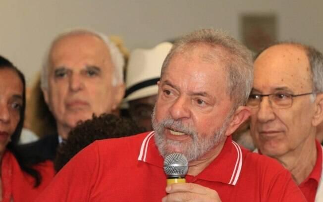 Ex-presidente Lula deu as declarações durante discurso em que se defendia da denúncia por corrupção do MPF
