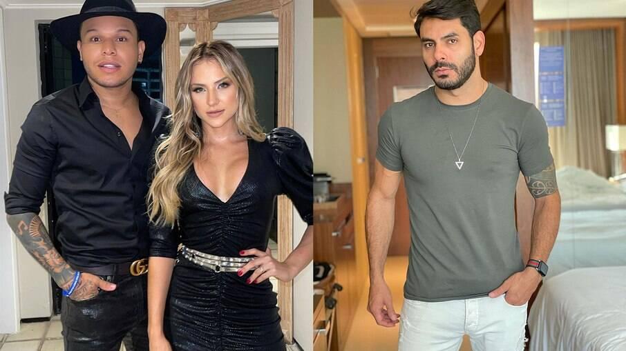 Tierry convida Rodolffo para ser padrinho em casamento com Gabi Martins