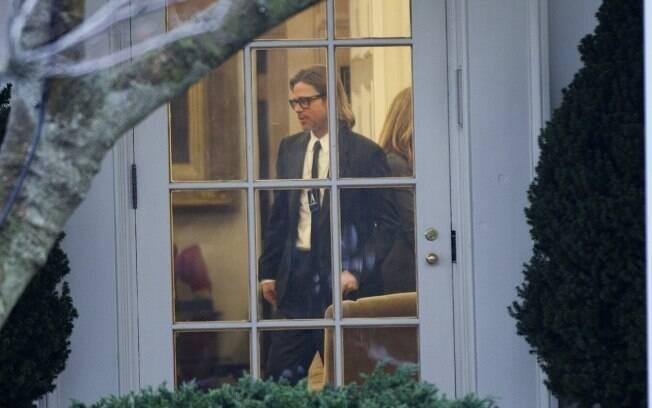 Brad Pitt: segundo encontro da ator com o presidente dos Estados Unidos