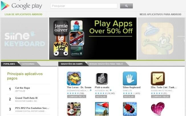 Google Play será nova loja de aplicativos para Android - e receberá música, filmes e livros em outras regiões