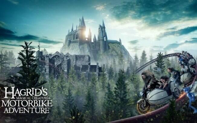 A nova atração da Universal Orlando promete ser a mais imersiva de todas do Wizarding World of Harry Potter