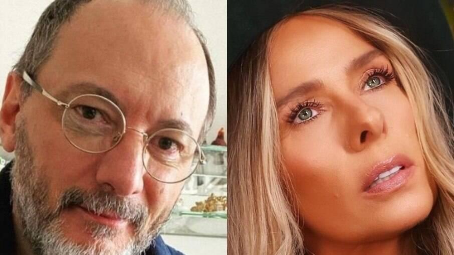 Britto Jr e Adriane Galisteu
