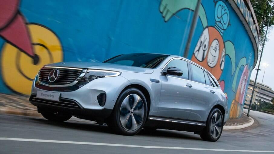 Mercedes-Benz EQC era um dos poucos SUVs elétricos disponíveis na Europa em 2020