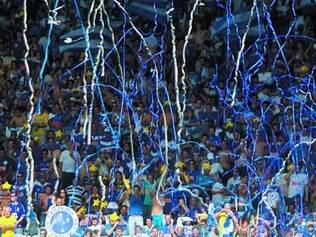Empolgação. No Brasileirão do ano passado, a China Azul deu repetidos shows no Mineirão