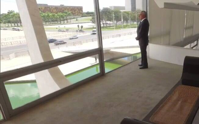Embora o Alvorada seja a residência oficial da Presidência da República, Michel Temer estava no Palácio do Jaburu