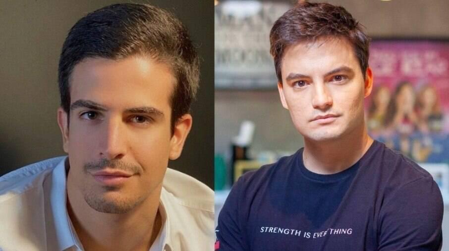 Enzo Celulari e Felipe Neto