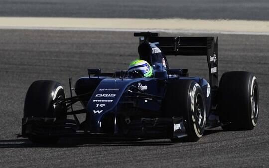 Felipe Massa esbanja otimismo após terceiro melhor tempo nos testes do Bahrein - Automobilismo - iG