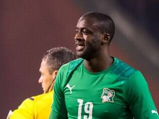PANDORA - Ivory Coast's Yaya Toure in action during a friendly soccer match against Belgium at the King Baudouin stadium in Brussels on Wednesday March 5, 2014. (AP Photo/Geert Vanden Wijngaert)