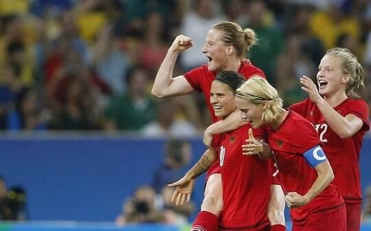 3ba888d746910 Alemanha vence Suécia e leva ouro no futebol feminino - Olimpíadas - iG