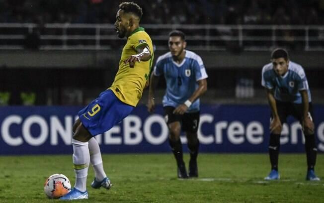 Brasil vence o Uruguai no Pré-Olímpico