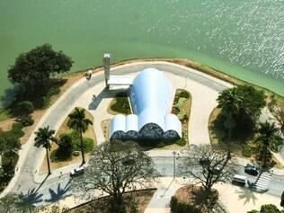 Clássica. Igreja da Pampulha é ponto turístico tradicional, mas aqui tem vista aérea e diferente