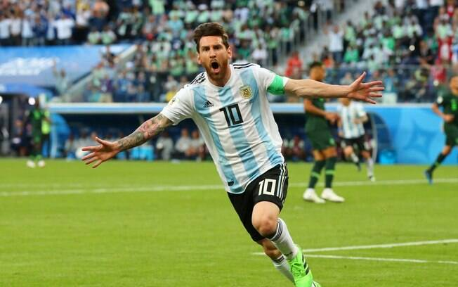 Lionel Messi volta à seleção argentina após eliminação na Copa do Mundo 2018