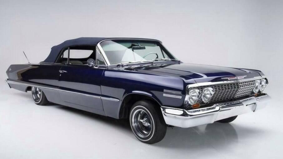 Chevrolet Impala 1963: clássico customizado pela West Coast Customs deverá ser arrematado por mais de R$ 1 milhão