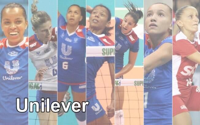 Unilever soma sete títulos na Superliga e é a  equipe que mais venceu a competição