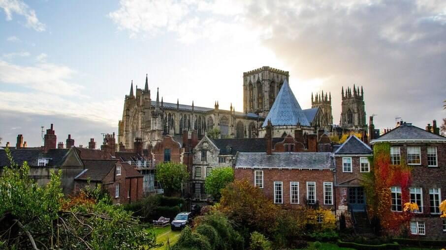 York é uma cidade medieval na Inglaterra