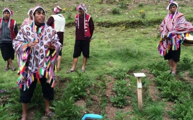 O cultivo da batata tem um lugar especial na cultura peruana