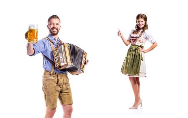 Usar um traje típico completo te dará direito a meia entrada na Oktoberfest Blumenau - então preste atenção nas regras