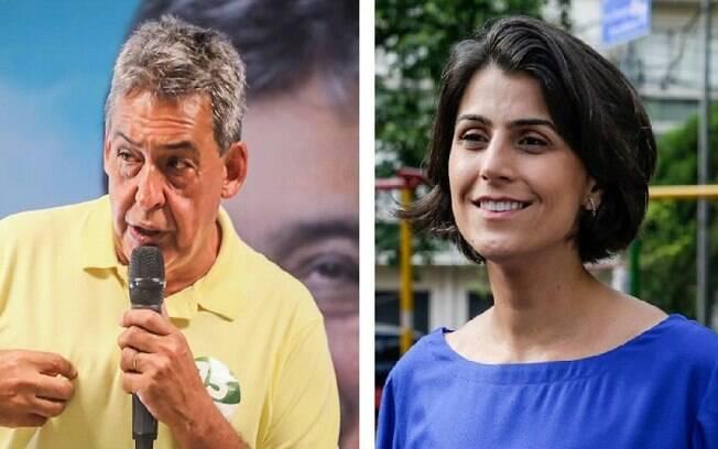Sebastião Melo (MDB) e Manuela D'Ávila (PCdoB) estão no segundo turno em Porto Alegre