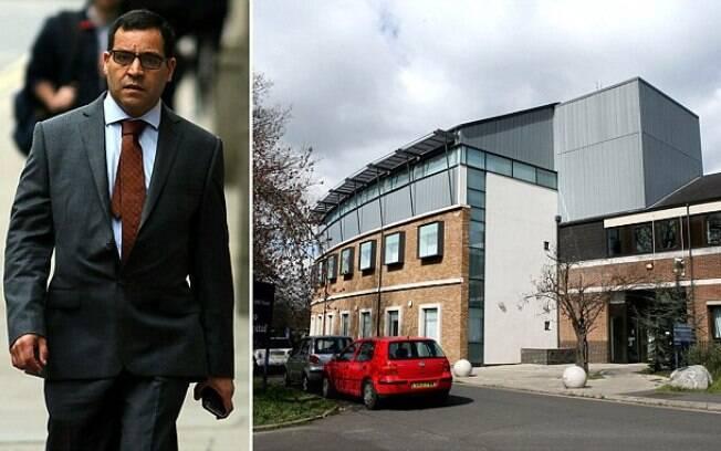 Mohamed Amrani ainda vestia avental cirúrgico quando estupro mãe de paciente em seu escritório, em hospital londrino