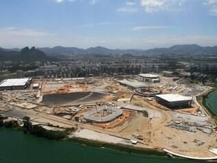 Visão geral do Parque Olímpico
