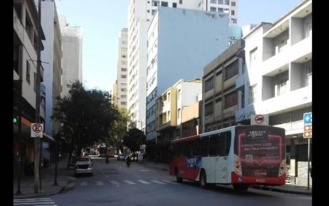 Crime ocorreu na rua dos Tupinambás, centro de Belo Horizonte