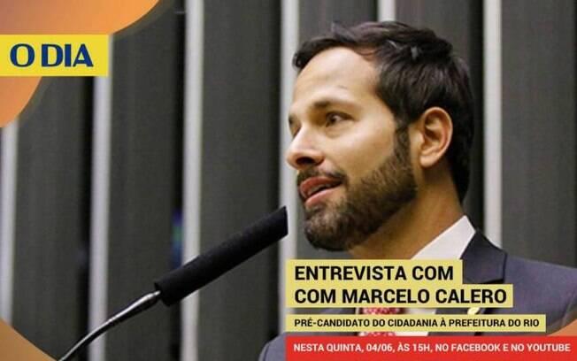 Marcelo Calero, pré-candidato à prefeitura do Rio de Janeiro pelo Cidadania