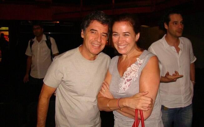 Lilia Cabral e Paulo Betti