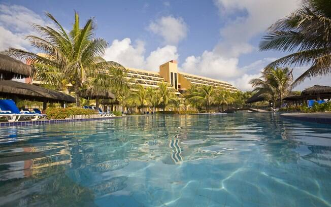 A deliciosa piscina do Pestana Natal Beach Resort