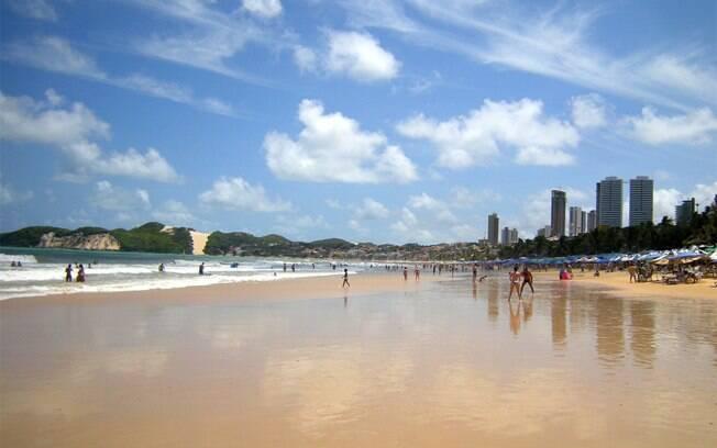 Praia de Ponta Negra, em Natal: paisagem 'enfeitada' pelo Morro do Careca
