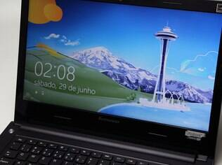 Windows 8 é o sistema operacional usado no S400u, fabricado pela Lenovo