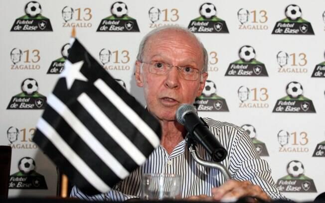 Zagallo é considerado um dos maiores ídolos  do Botafogo