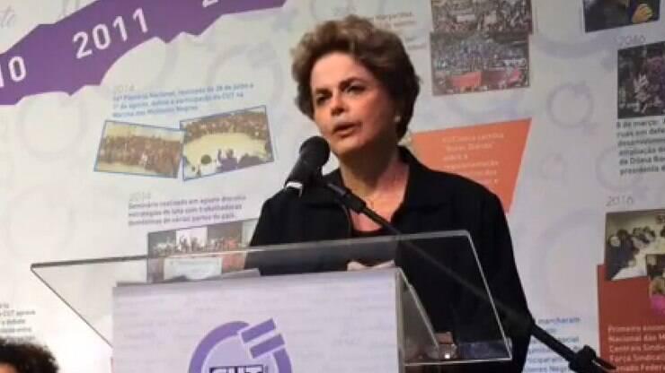 Dilma denuncia
