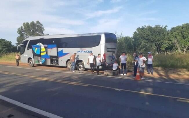 4 de Julho enfrenta problemas em retorno ao Piauí
