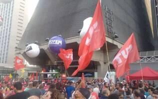 Manifestações da greve geral atacam governo Bolsonaro e reforma da Previdência